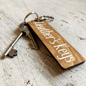 Personalised Key Fob