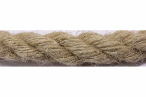 6mm Flax Hemp Rope|UK manufactured|Natural fibre rope|sold by the metre