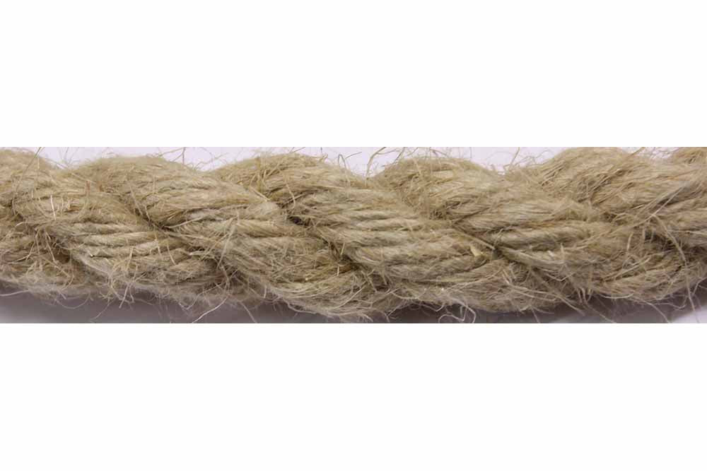 6mm Flax Hemp Rope (per 10m)