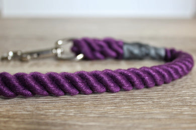 Outhwaites Dog Lead - Purple Trigger Hook