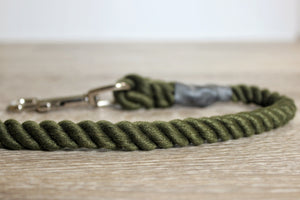 Outhwaites Dog Lead - Olive Trigger Hook
