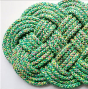 Spring Meadow Ocean Plait Mat
