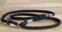 Outhwaites Dog Lead - Black Slip Lead