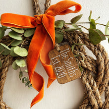Personalised Manila Naked Wreath
