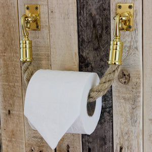 flax bathroom,brass bathroom fittings,brass toilet roll holder,brass toilet roll holder, nautical bathroom, rustic bathroom, country bathroom, coastal bathroom