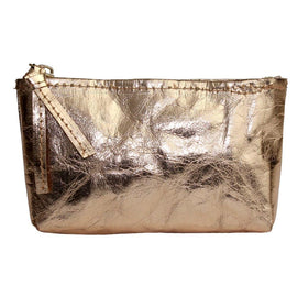 Paper Cosmetic Purse - Rose Gold