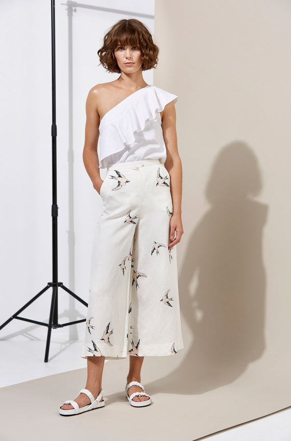 Whimsy Culotte - Swallow
