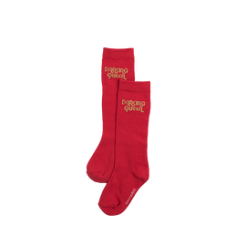 DANCING QUEEN | KNEE HIGH SOCKS | RED | ROCK YOUR BABY | MELLIE & ME - Mellie & Me