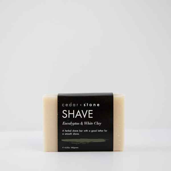 Eucalyptus + White Clay Shave Bar - Mellie & Me