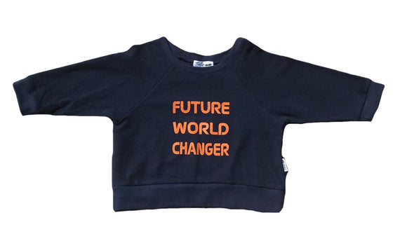 FUTURE WORLD CHANGER | SWEATER | TULLY AND THE CHIEF | MELLIE & ME - Mellie & Me