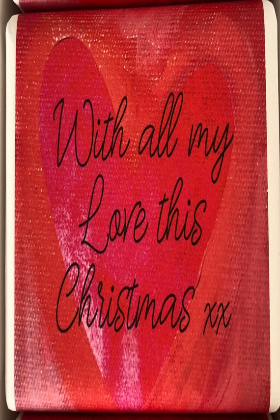 WITH ALL MY LOVE THIS XMAS