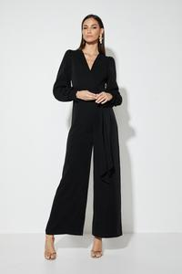 DARK WAS THE NIGHT JUMPSUIT | MOSSMAN | BLACK | MELLIE & ME - Mellie & Me