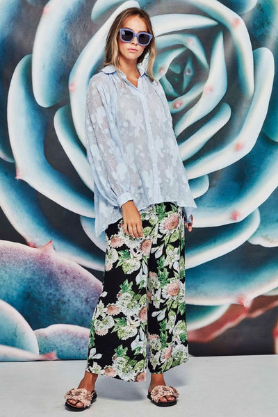 Step To It Pant - floral - Curate by Trelise Cooper - relaxed pants