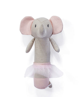 Emme Elephant Rattle - Mellie & Me
