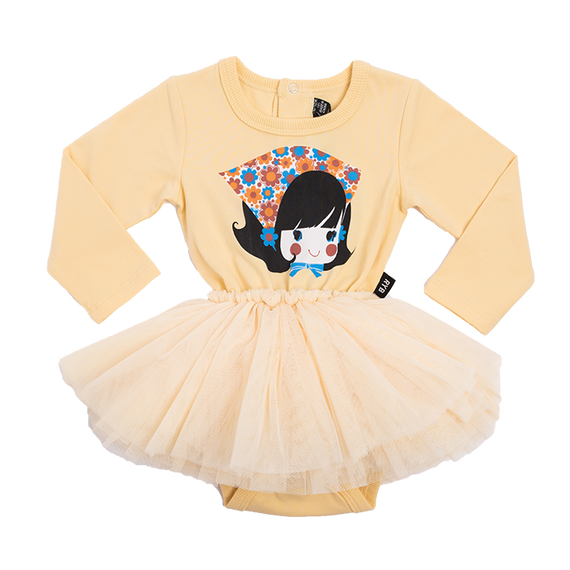 DRESS | GIDGET LONG SLEEVE BABY CIRCUS DRESS | ROCK YOUR BABY | MELLIE & ME - Mellie & Me
