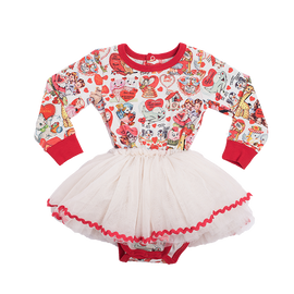 MY FUNNY VALENTINE | LONG SLEEVE CIRCUS DRESS