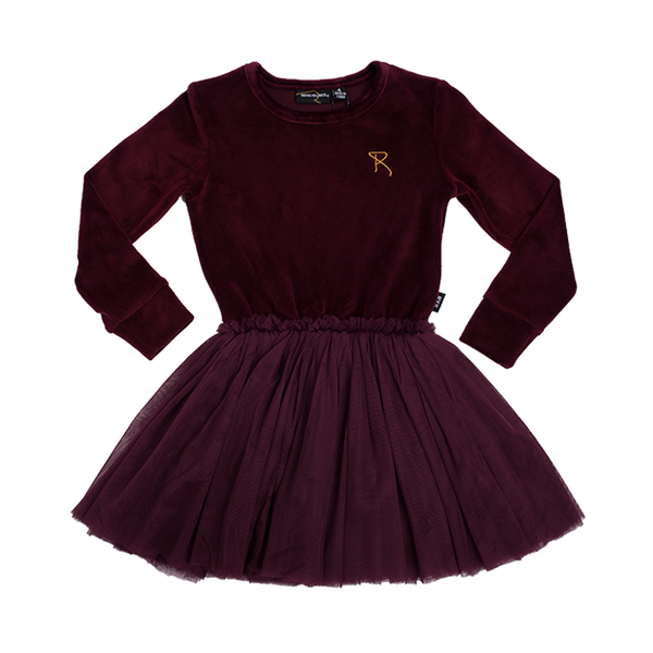 GIRLS DRESS | VELVET LS CIRCUS DRESS | ROCK YOUR BABY - Mellie & Me