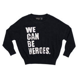 WE CAN BE HEROES | PULLOVER/JUMPER -