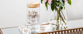 Gratitude Glass Jars - Mellie & Me