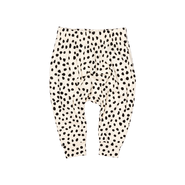 SPOT ON OATMEAL PANTS | UNISEX | ROCK YOUR BABY | MELLIE & ME