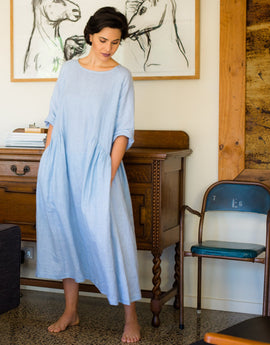 Raga Dress - Misty Blue