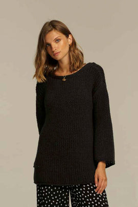 COLT SWEATER | CHARCOAL | RUE STIIC | MELLIE & ME - Mellie & Me