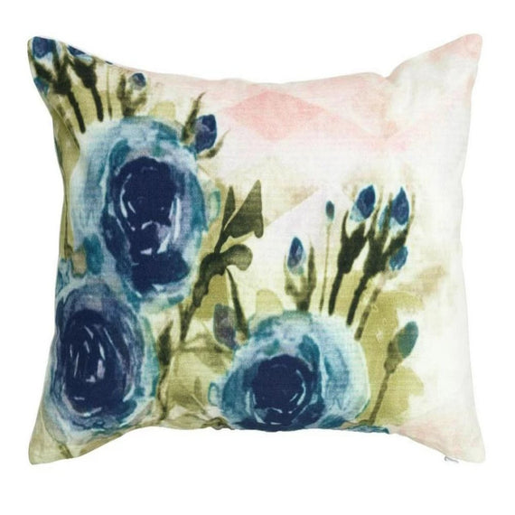 Isla cushion cover blue mellie and me