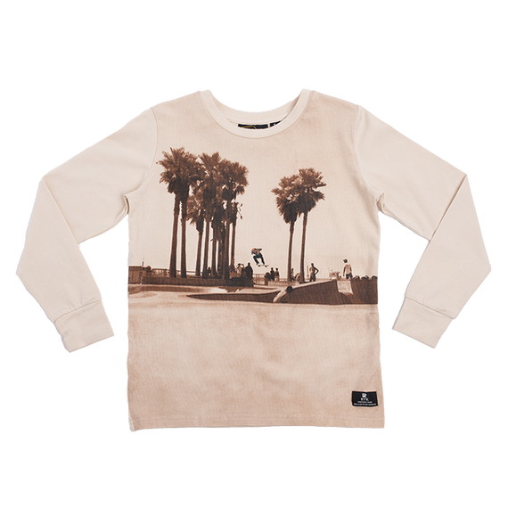 BOYS T-SHIRT | SKATE PARK - LONG SLEEVE T-SHIRT | ROCK YOUR BABY | Mellie & Me - Mellie & Me