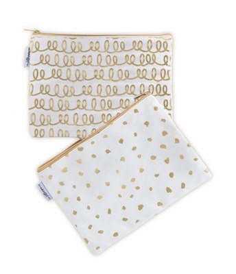 Little Paper Pencil Case - dots - Mellie & Me