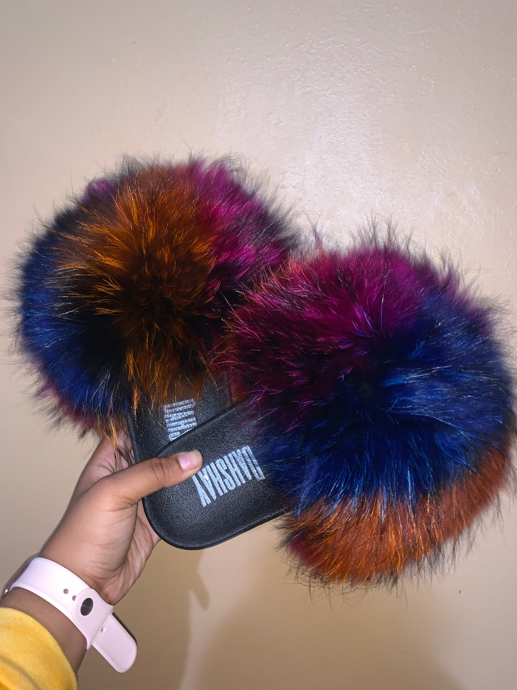 Abstract Fur Slides (KIDS) (IN STOCK)