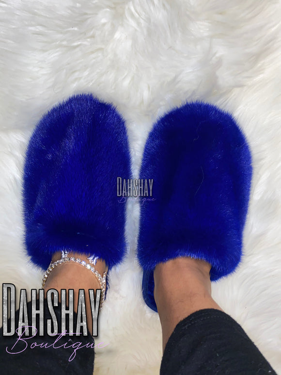 Mink Fur Slippers