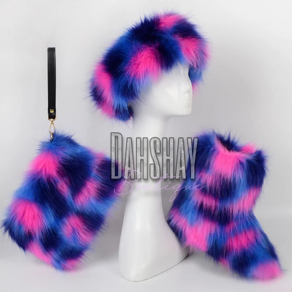 Purple Rain Fur Set
