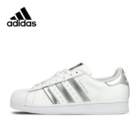 New Arrival Authentic Adidas Originals SUPERSTAR Breathable Women's And Men's Skateboarding Shoes Sports Sneakers