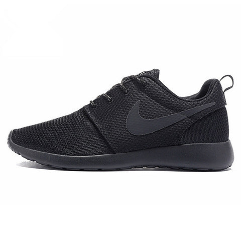 Nike Roshe Run Men Air Mesh Breathable Running Shoes,Original New Men Outdppr Sport Sneakers Trainers Shoes