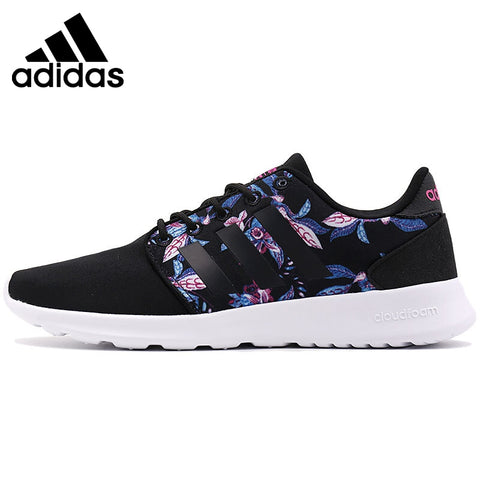 Original New Arrival 2017 Adidas NEO Label CLOUDFOAM QT RACER W Women's Skateboarding Shoes Sneakers