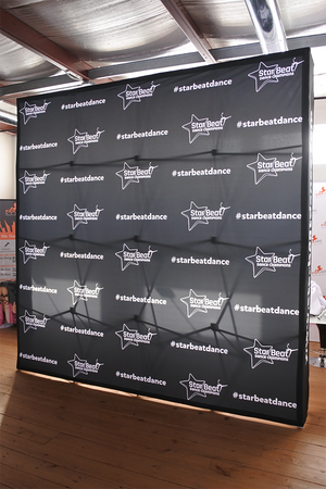Print Only Premium Fabric Backdrop - 10'x10'