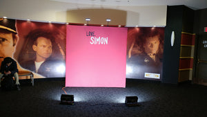 Movie Premiere Backdrop for Red Carpets Photos
