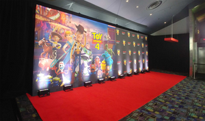 Print Only Premium Fabric Backdrop - 30'x10'