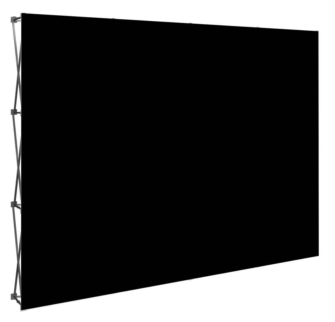 Premium Fabric Backdrop Kit - 8'x8'