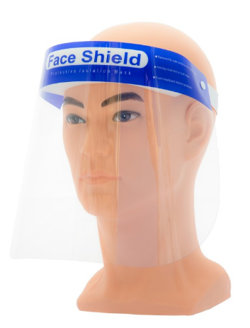 Protective Full Face Mask/Shield (10 pack)
