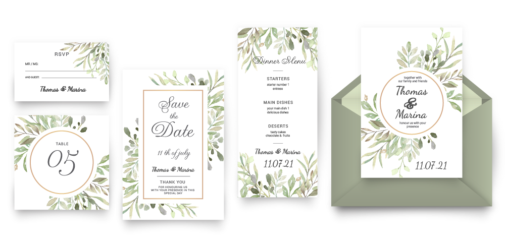 Wedding Print Package
