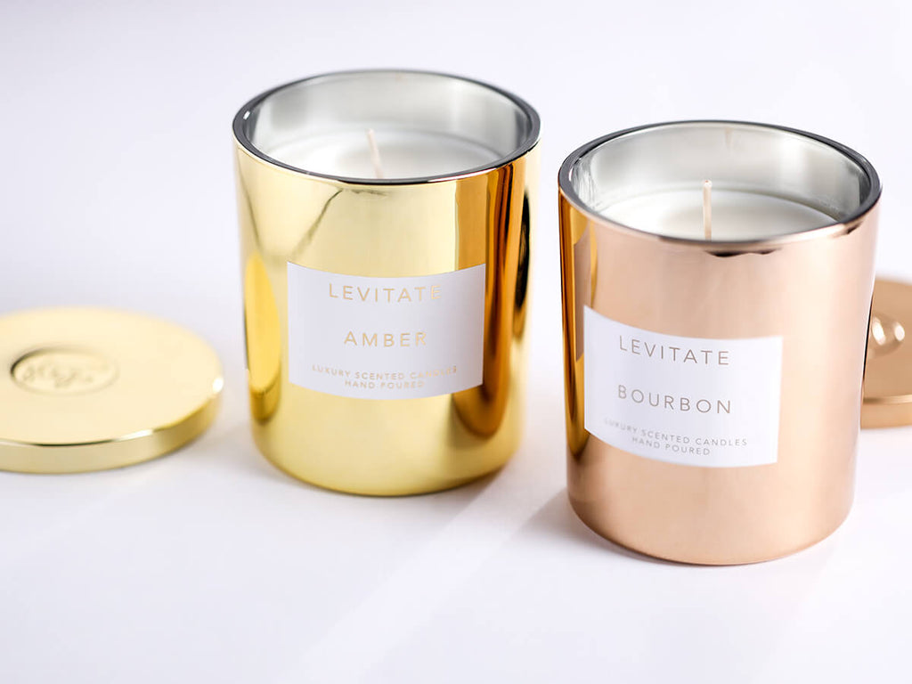 An image of favorite Levitate candles.
