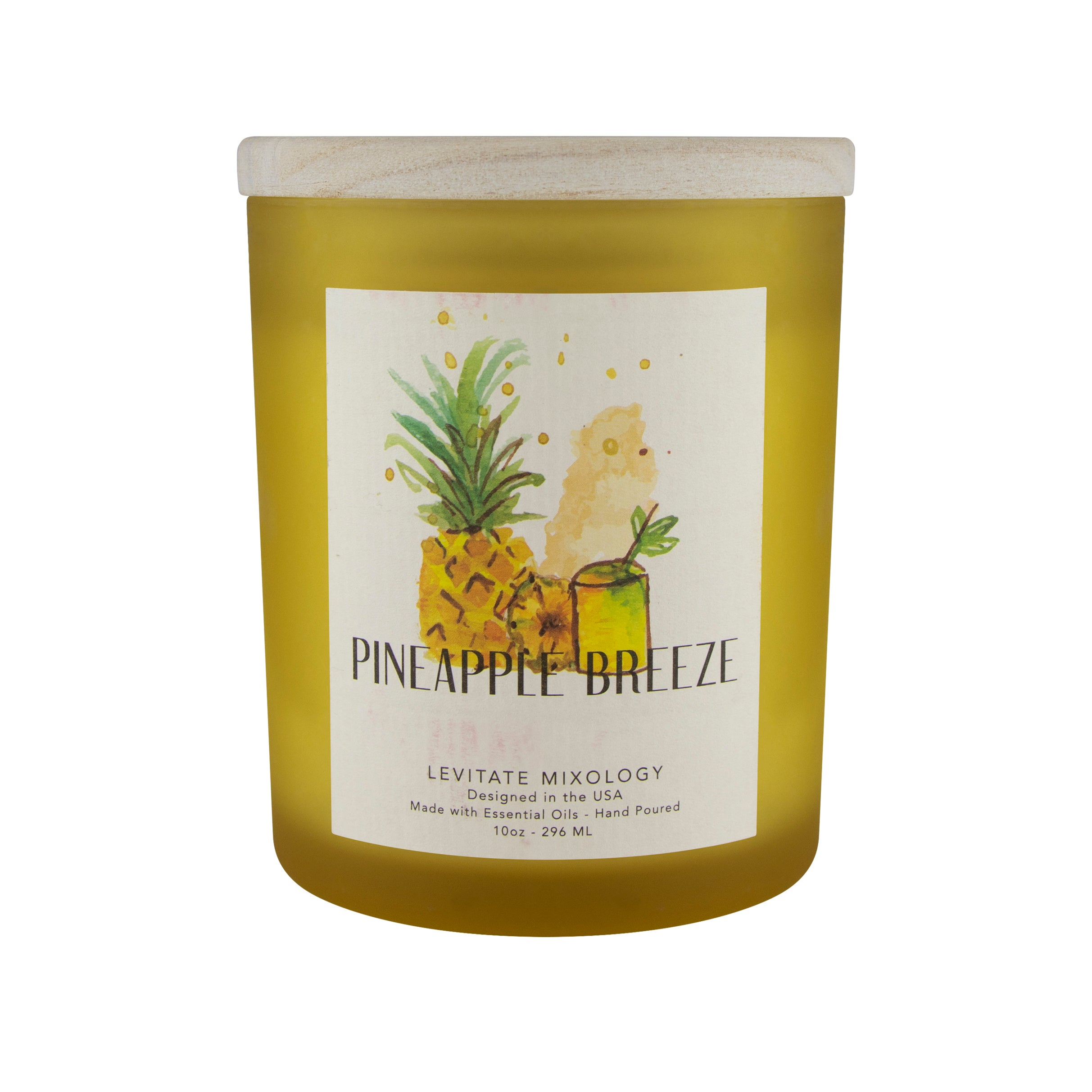 Pineapple Breeze Single Wick Candle
