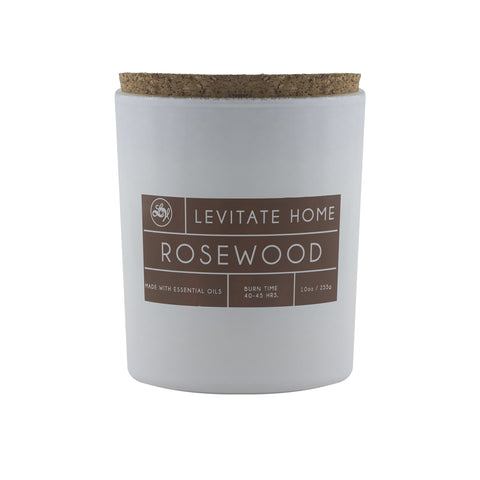 Rosewood Single Wick Candle