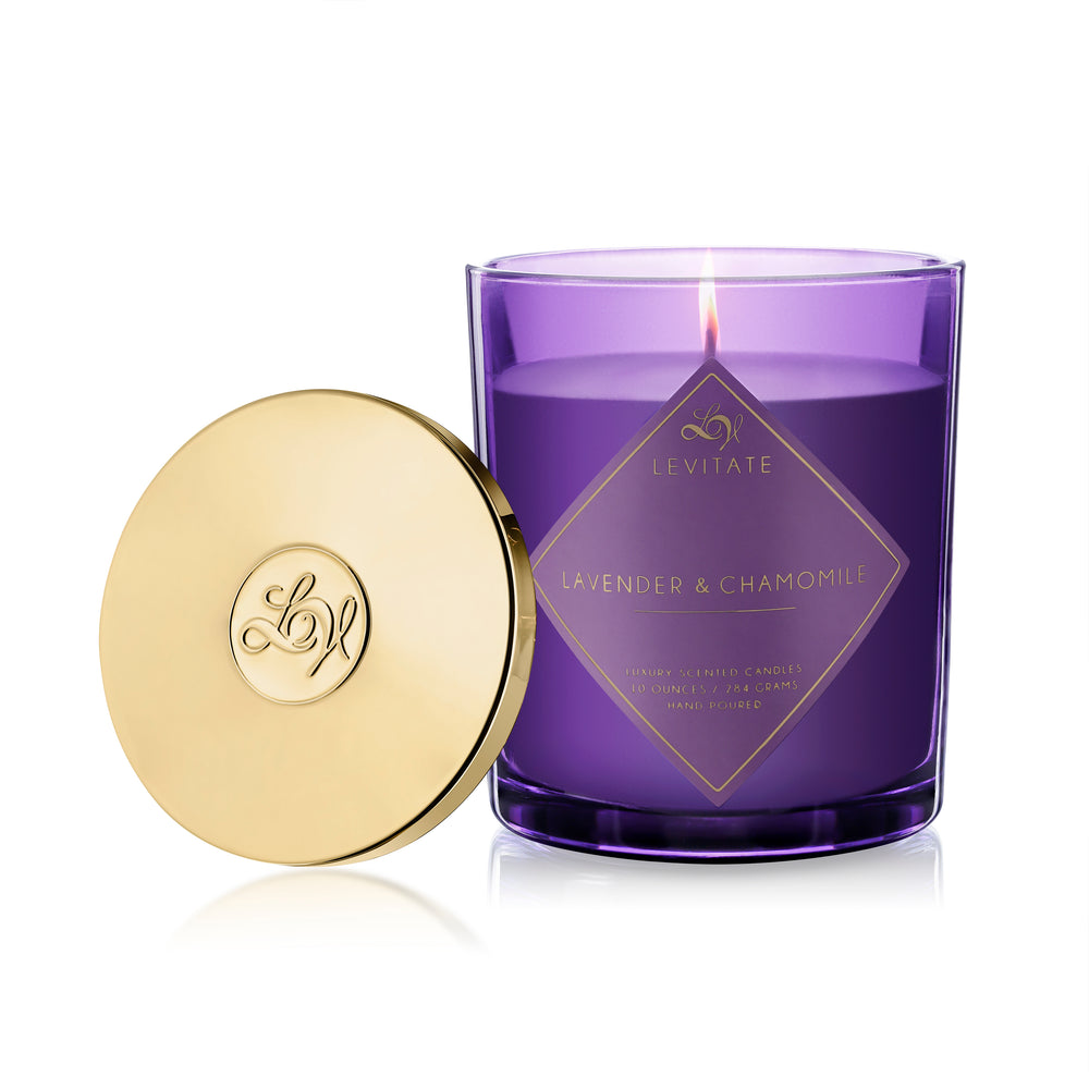 Load image into Gallery viewer, Lavender & Chamomile Candle
