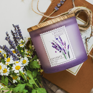 Load image into Gallery viewer, Lavender Bouquet Candle