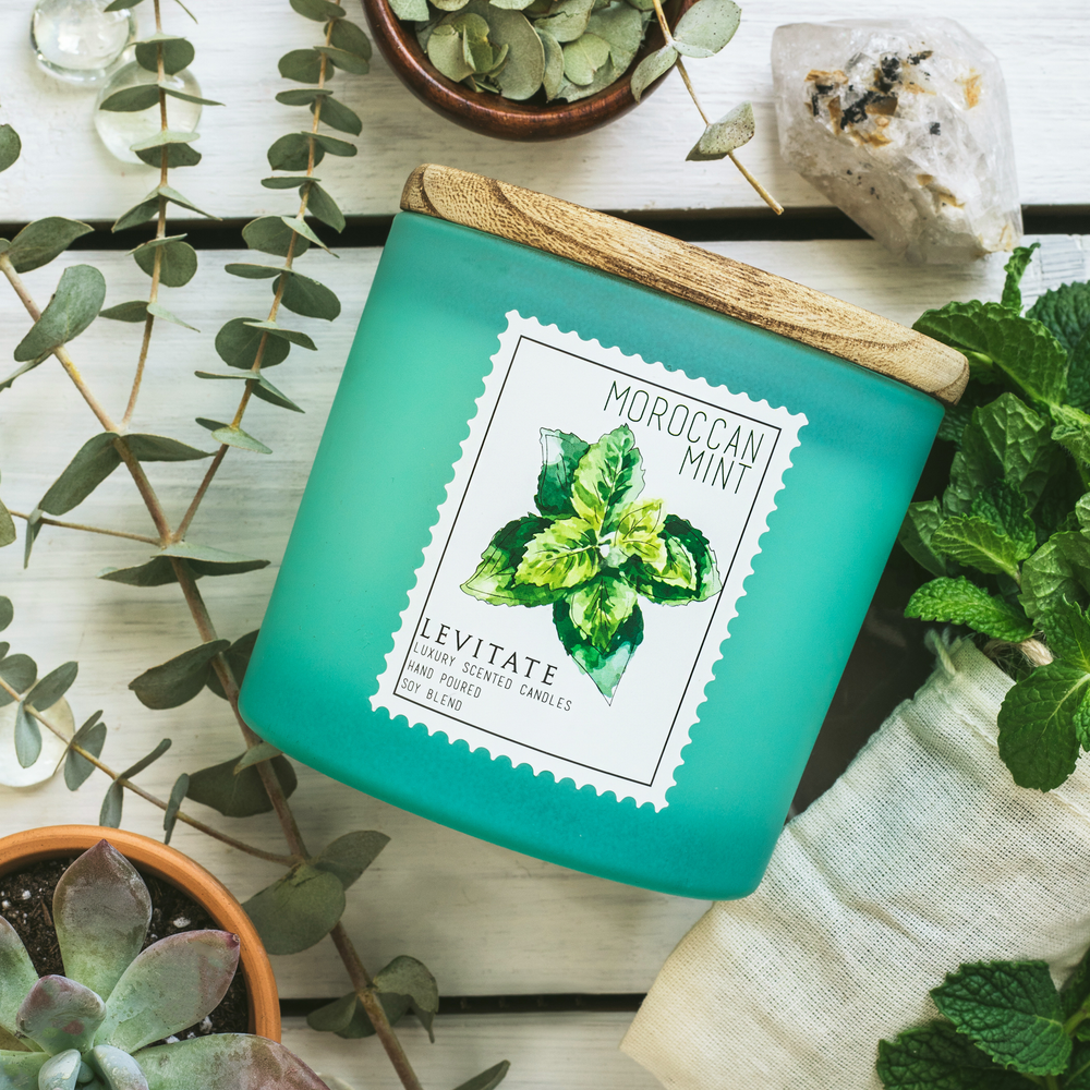 Load image into Gallery viewer, Moroccan Mint Candle