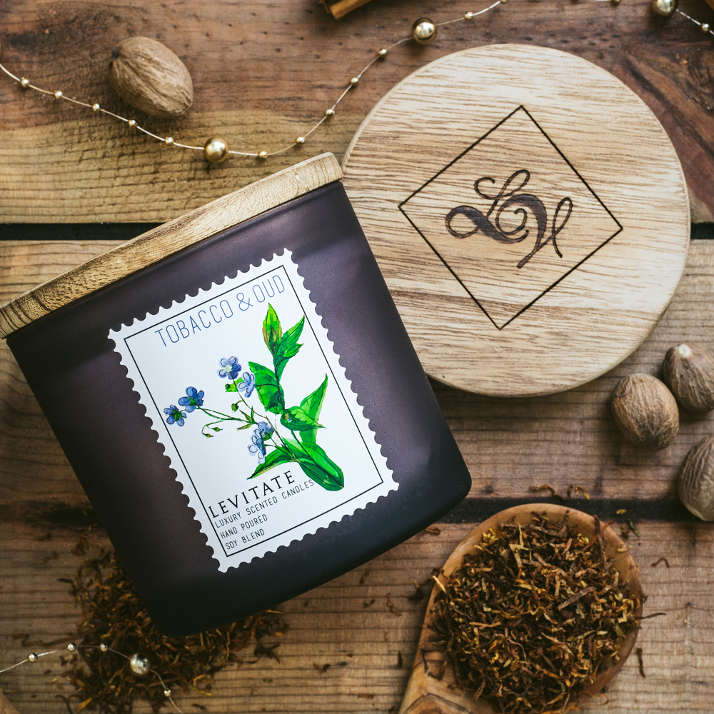 Load image into Gallery viewer, Tobacco & Oud Candle