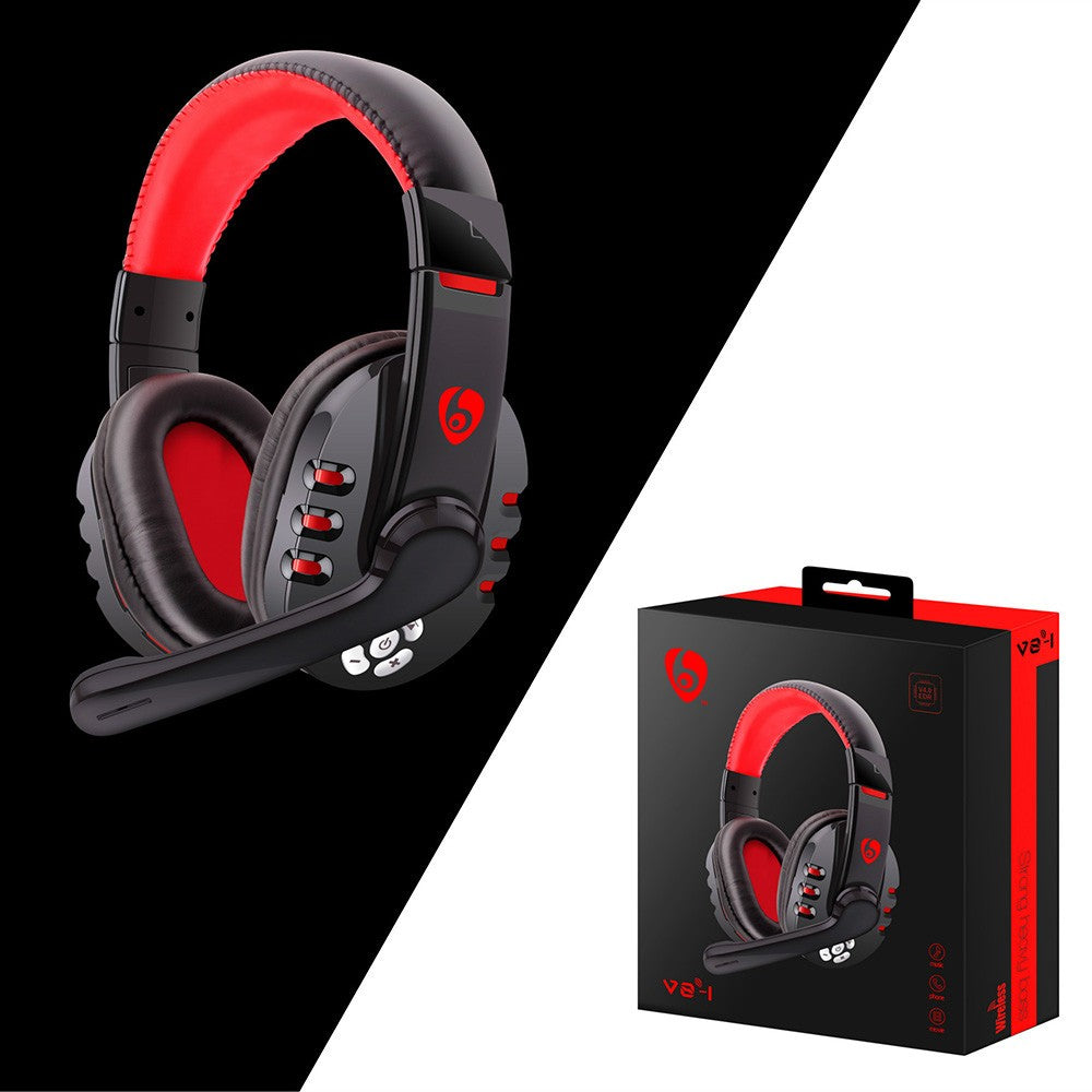 Bluetooth Gaming Headset Headphones With Microphone For Ps4 Pc Phone F Mybeatsco