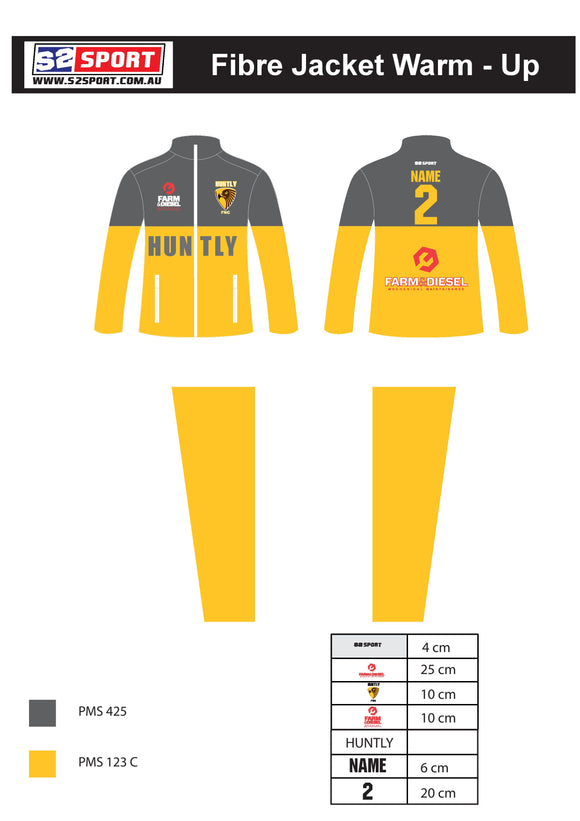 Huntly FNC Fibre Jacket Warm-up